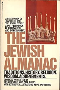 Paperback The Jewish Almanac Book