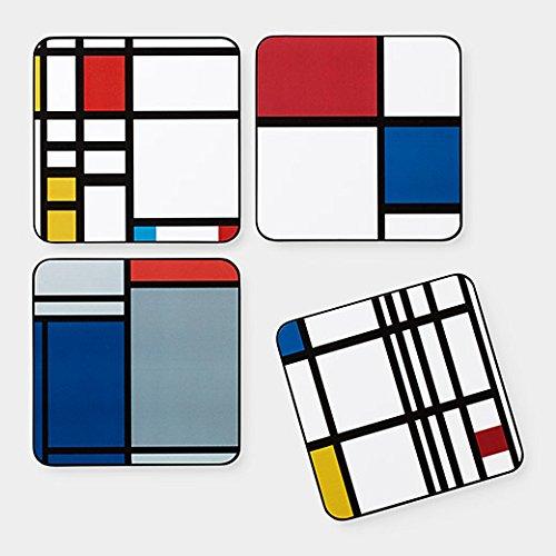 MOMA Talla /única Posavasos Multicolor