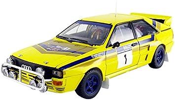 Audi Quattro A2 Mikkola Hertz Gewinner Rally Hong Kong 1985 1//18 Sun Star Modell