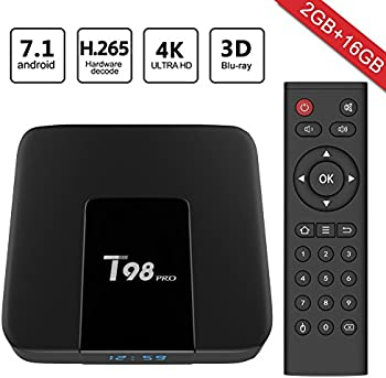 Greatever T98 pro Android 7.1 2GB+16GB Smart TV Box