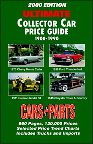 Classic Car Price Guide >> 2000 Edition Ultimate Collector Car Price Guide 1900 1990
