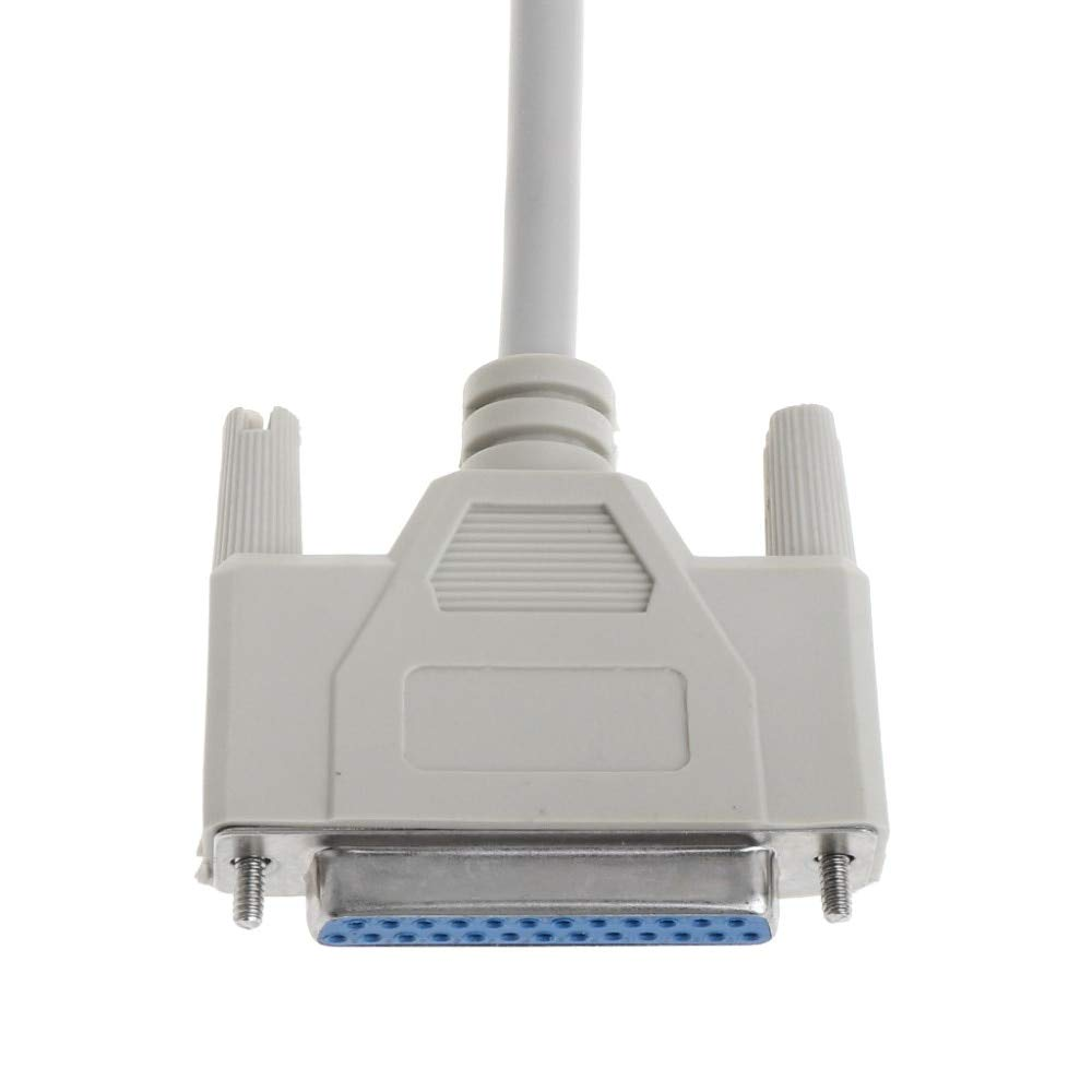 Cable Length: 3m Computer Cables Open-Smart Printer Cable DB25 Male to Female 25 Pin Extension Line Parallel Port Computer 3m 1.5m