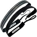 Athletic Sports Headbands - 6 Pack Thin Head...