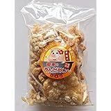 龍華のあんだかし~ 塩ありなし食べ比べセット 100g×各6袋 豚皮チップス 沖縄伝統の味 あぶらかす お酒のおつまみやMEC食に! サクサク食感