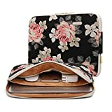 13 Inch Canvas Laptop Slim Sleeve Soft Case with Pocket Compatible with 13
