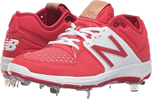 New Balance pour homme L3000 V3 Baseball Chaussure - Rouge - rouge/blanc,