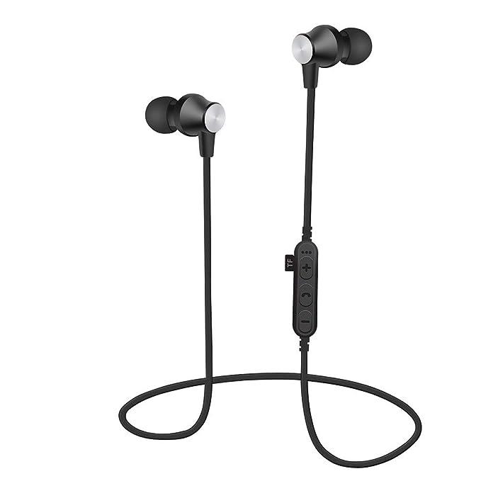 MiniPoco - Auriculares estéreo inalámbricos Bluetooth 4.2 ...