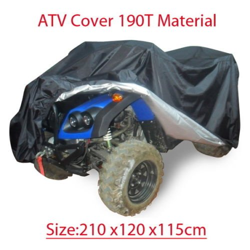 NEW Quad bike ATV ATC cover PU WaterProof Size 210x120x115CM (Ktm Dirt Bike Pants)
