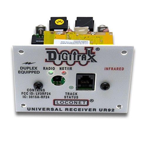 Digitrax UR92 LocoNet Duplex Radio Transceiver/IR Receiver Panel