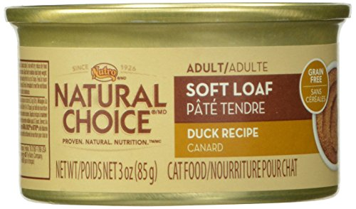 Natural Choice Adult Soft Loaf Duck Recipe - 3 Oz. (85 G), ( Pack Of 24)