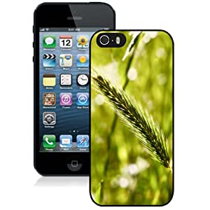 Popular And Durable Designed Case For iPhone 5 5s With Green Wheat Phone Case