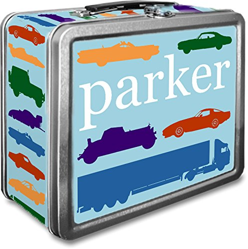 Custom Metal Lunch Boxes - Personalized Metal Lunch Box (Traffic Jam)