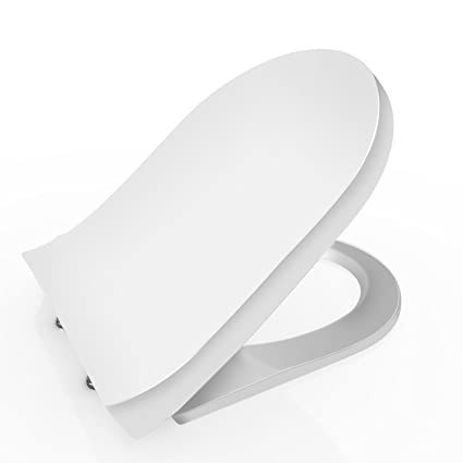 Awesome Papafix Premium Toilet Seat With Cover Soft Close Quick Release For Easy Cleaning Fits All Manufacturers Round Elongated Toilets White Theyellowbook Wood Chair Design Ideas Theyellowbookinfo