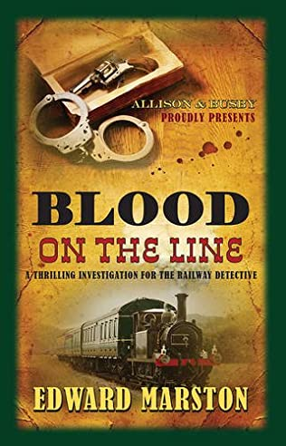 book cover of Blood on the Line
