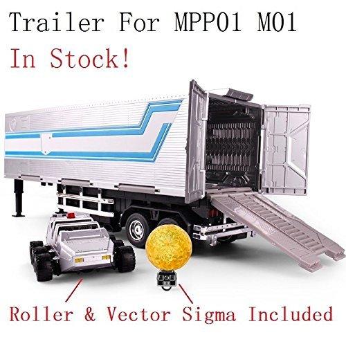GBG TF Wei Jiang Trailer Roller Sigma for MPP10 Optimus Prime Oversize (Optimus Prime Trailer)