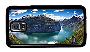 Hipster awesome Samsung Galaxy S5 Case geiranger river panorama PC Black for Samsung S5