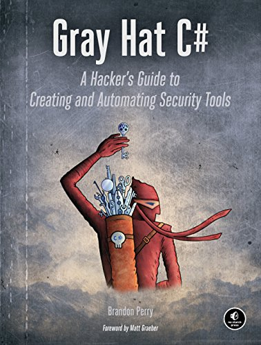 - Gray Hat C#: A Hacker's Guide to Creating and Automating Security Tools