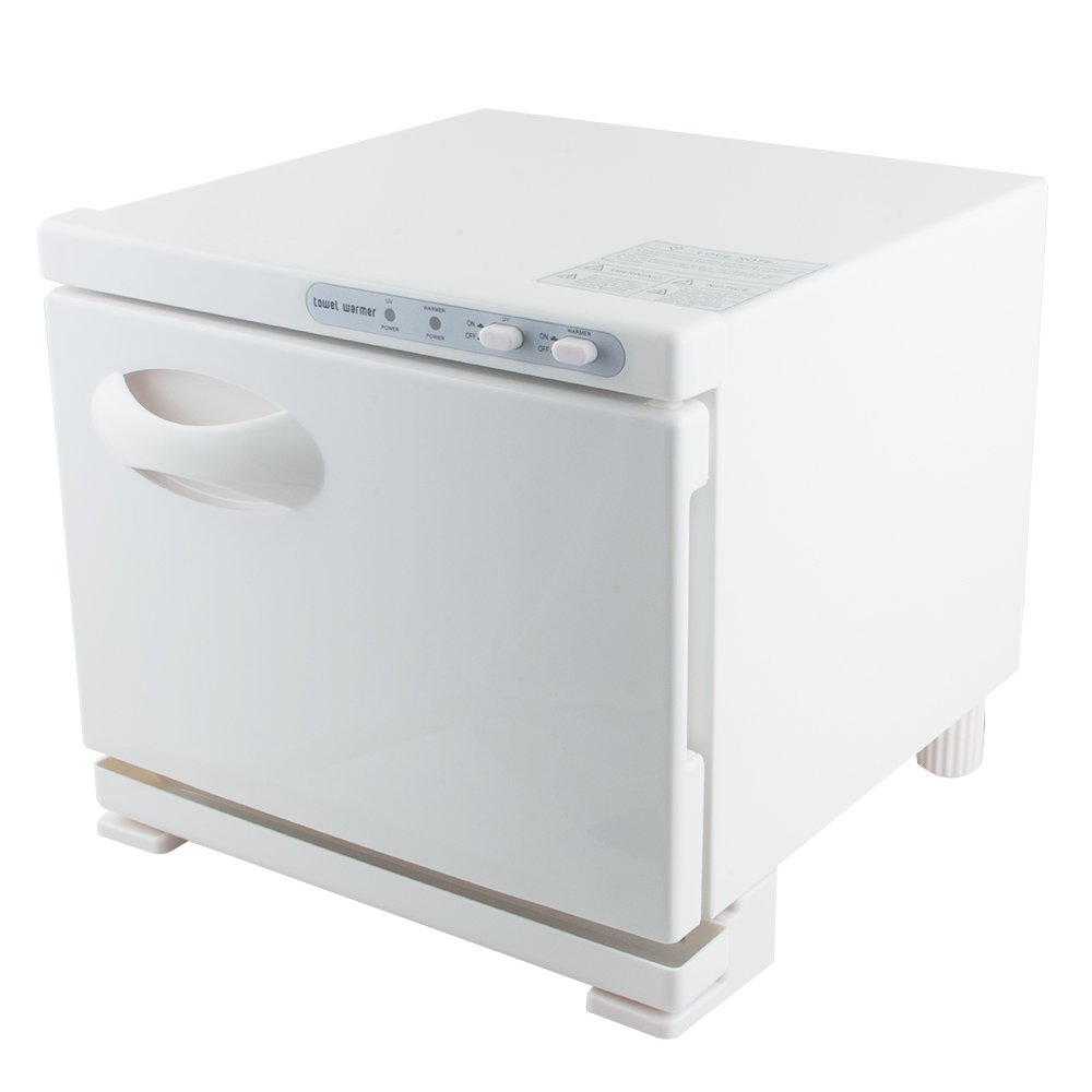 2 IN 1 UV Hot Towel Warmer Sterilizer 8L Cabinet Beauty Salon Equipment(Shipment From US)