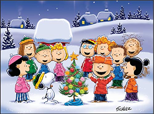 The Jigsaw Puzzle Factory 1331 Peanuts Oh Christmas Tree
