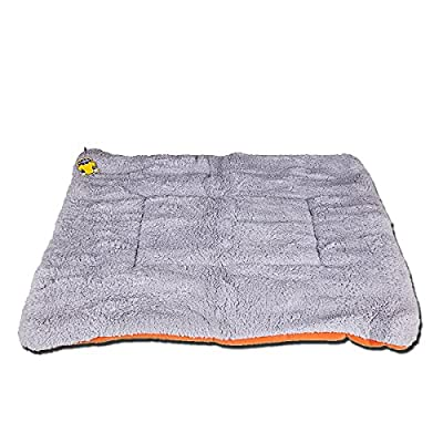 PETPAWJOY Dogs Blanket, Crate Pad Cat Bed Dog Crate Cushions Pad Washable Filling Pads Soft Furry Pet Bed Mat 33x31,30x26,26x23 inch