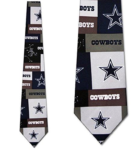 - Cowboys tie Mens Dallas Neck Tie Block NFL