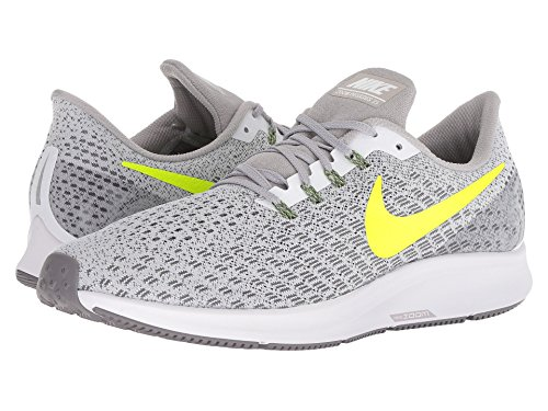 [NIKE(ナイキ)] メンズランニングシューズ?スニーカー?靴 Air Zoom Pegasus 35 White/Gunsmoke/Atmosphere Grey/Volt 9 (27cm) D - Medium