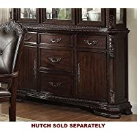 Kiera Rich Brown Wood Buffet by Crown Mark