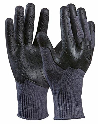 MadGrip 700922 - Guanti da lavoroPro Palm Knuckler Formula 200 con protezione nocche, migliore qualità industriale, taglia: XXL, colore: Grigio