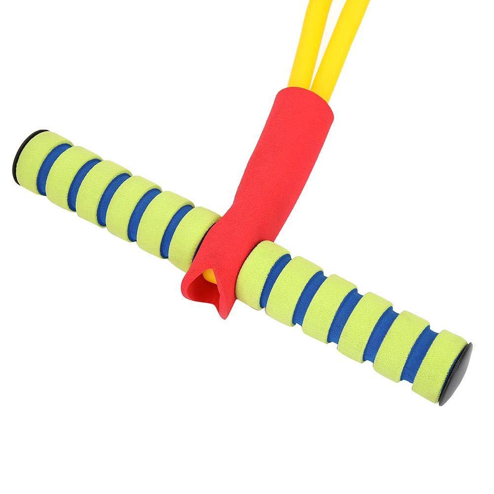 SolUptanisu Pogo Stick,Juguete para Saltar Ni/ños Palo Saltador Pogo Saltarines Caucho Equipo de Puente Divertido y Juego Saltos Seguros Juguetes Deportivos para Ni/ños Infantiles al Aire Libre,Verde