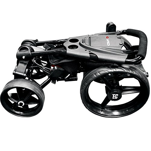 Amazon.com : Eze Glide Compact Quad 4-Wheel Trolley Black : Sports & Outdoors