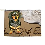 CafePress - Lily Love_Water_Beach - Makeup Pouch