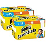 Bounty Essentials Full Sheet Paper Towels, 24 Large Rolls = 30 Regular Rolls