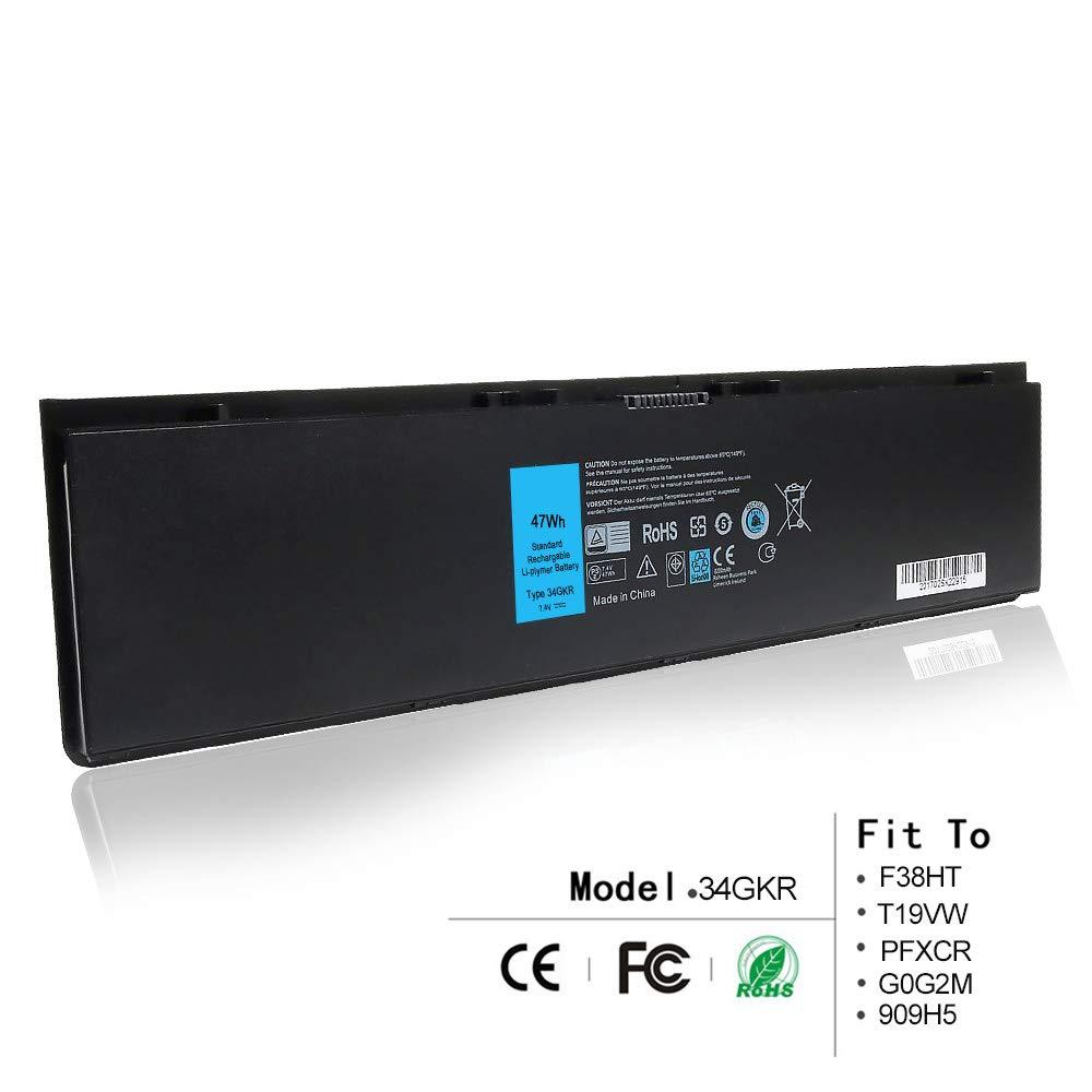 Bateria 7.4V 47Wh para Dell Latitude E7420 E7440 E225846 Compatible P/N: 34GKR F38HT T19VW PFXCR G0G2M 909H5