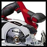 Einhell-4331200-Sega-Circolare-a-Batteria-Te-CS-18-Li-Solo-Rosso