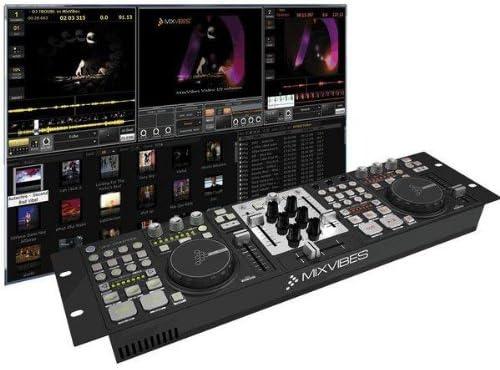 MIXVIBES VJ & DJ Controlador MIDI Mesa de mezclas VFX Control + 2 ...