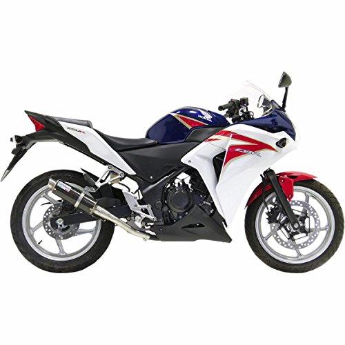11-13 Honda CBR250R: Leo Vince SBK GP Corsa Slip-On Exhaust (Carbon Fiber) ()