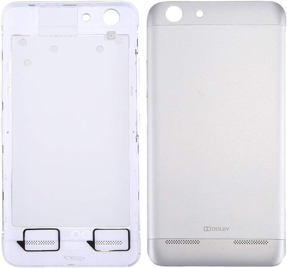 Wangl Lenovo Spare for Lenovo Vibe K5 / A6020 Battery Back Cover(Grey) Lenovo Spare (Color : Silver)