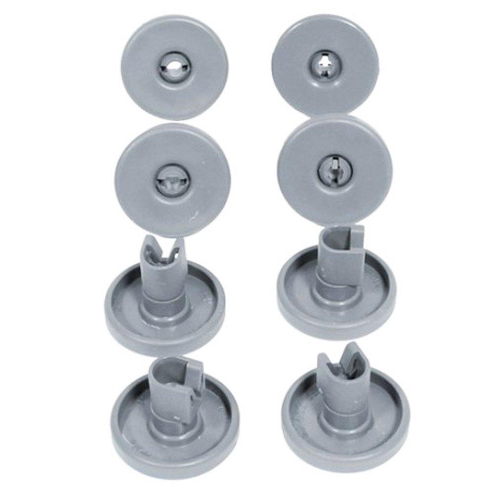 Rueda inferior para cesta de lavavajillas Zanussi de 40 mm y eje ...