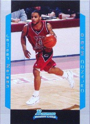 Jameer Nelson 2004-05 Bowman Rookie Card -