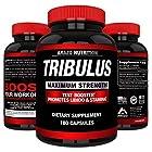 Tribulus Terrestris Extract Powder 45% Steroidal Saponins 1500mg Testosterone Booster BioScience Nutrition USA