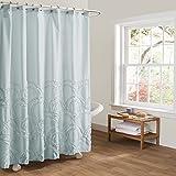 Lush Decor Lush Décor Esme Spa Shower Curtain, 72'' x 72'', Spa Blue