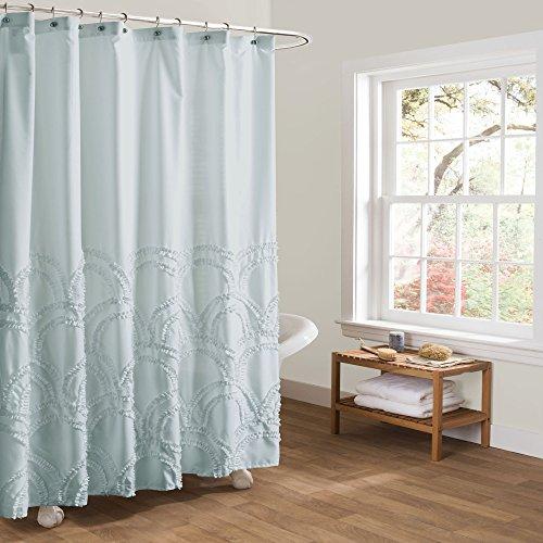 """Lush Decor Lush Décor Esme Spa Shower Curtain, 72"""" x 72"""", S"""