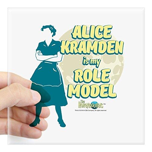 CafePress - The Honeymooners: Alice Kra Square Sticker 3