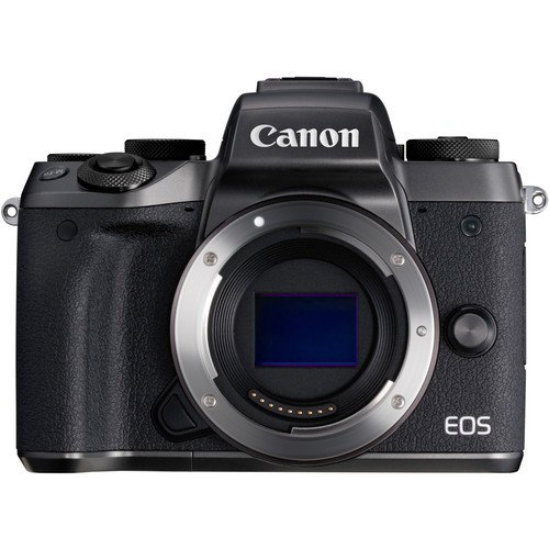Canon EOS M5 Mirrorless Wi-Fi Enabled, Built-in Bluetooth Digital Camera Body Only (International Version No Warranty) (Kit Box-No Lens Included)