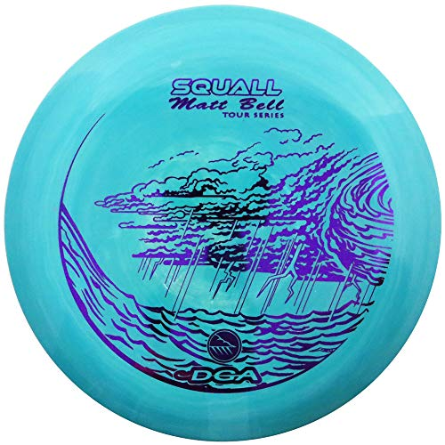 Pro Line Mid Range Disc - DGA Limited Edition 2019 Tour Series Matt Bell Swirly ProLine Flex Squall Mid-Range Golf Disc [Colors May Vary] - 173-174g