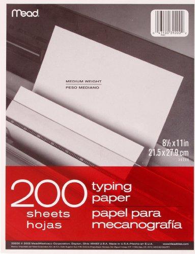 Mead Multipurpose Paper, 200 Count (39200)