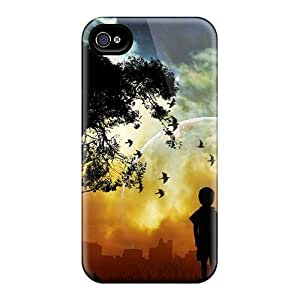 Top Quality Rugged Atardecer Case Cover For Iphone 4/4s