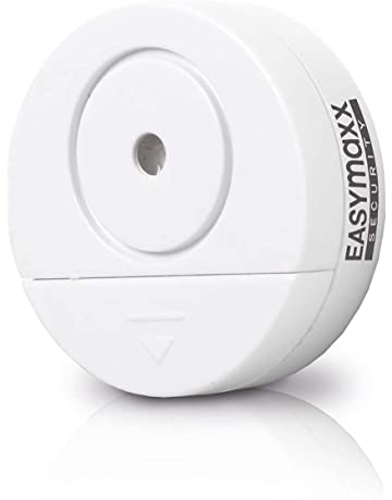 easymaxx 00310 Security Alarma Cristal Rotura, Juego de 2, Sensor de sacudidas, para