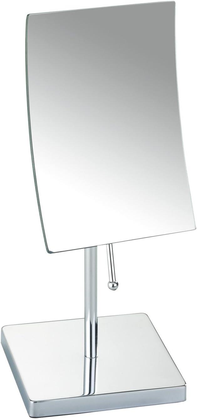 Wenko Pergola 17471100 - Espejo de 5 aumentos, con fijación magnética, Cromado: Amazon.es: Hogar