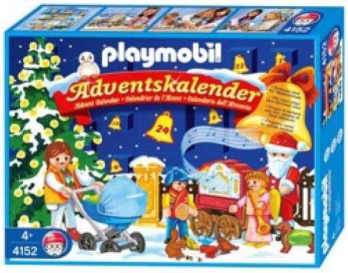 Playmobil - 4152 - Noël -  Calendrier avent Jeux de neige